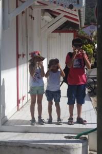 Une petite promenade dans une ruelle typique des Antilles