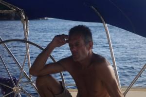 Gildas vit en Martinique. Plus pour longtemps puisqu'il envisage de se rendre dans le Pacifique à la fin de l'année.