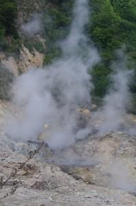 Sous l'île de Sainte Lucie, l'activité volcanique reste bien présente. Comme bien des îles de la mer des Caraïbes.